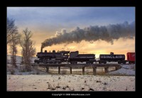 Heber Valley Railroad Winter Freight