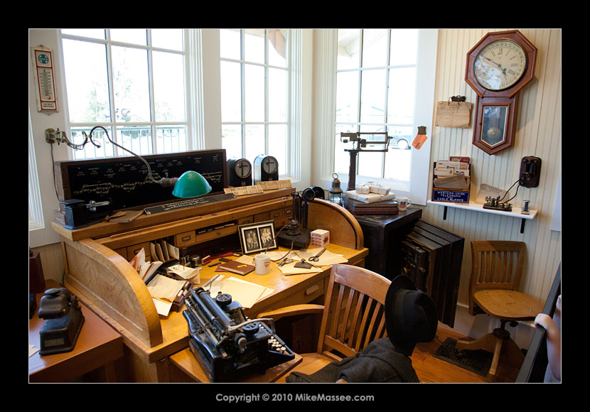 entire office decked. Inside, The Station Master\u0027s Desk Has Been Decked Out In Full. Entire Office