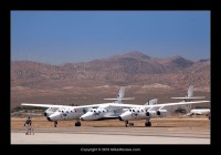 SpaceShipTwo and White Knight Two / Eve